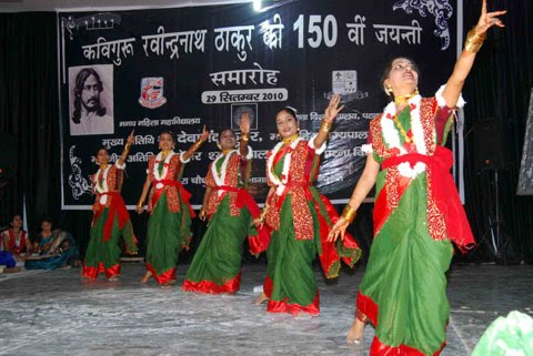 celebration of 150 birthday of rabindra Kolkata, may 8: the 151st birth anniversary of rabindranath tagore was  observed all over west  one of them is on 150th birth anniversary celebrations  by.