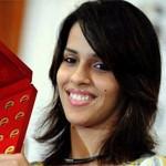 Saina Nehwal wins Women's Singles Tile of Australian Open 2014