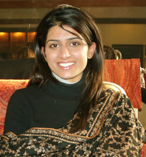 hina rabbani khar India visit
