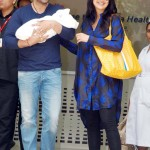 Shilpa Shetty and Raj Kundra with their Son
