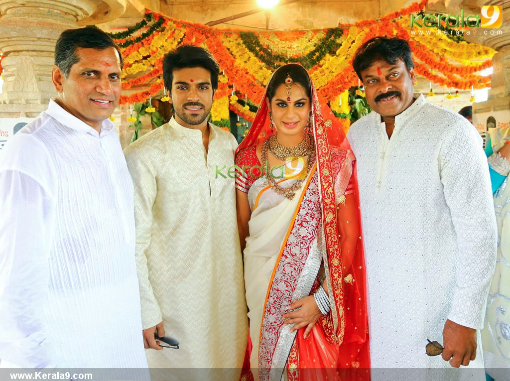 Telugu Star Ram Charan Marries His Girlfriend Upasana