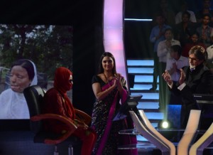 Sonali Mukherjee at KBC 6