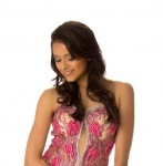 Hot Shilpa Singh in Evening Gown at Miss Universe 2012
