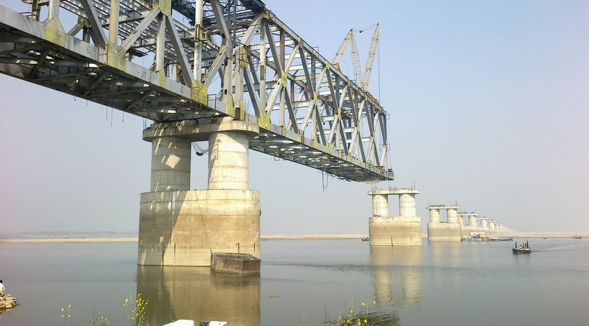 Digha Sonepur Rail Road Bridge