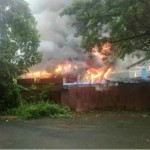 Fire at Mumbai Film City