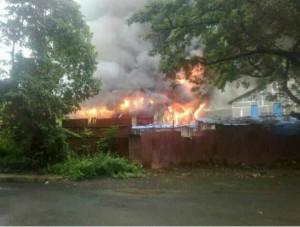Fire at Mumbai Film City