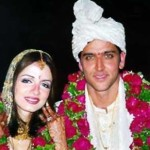 Hrithik Roshan and Suzanne Khan Marriage Photo