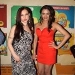 Nataliya Kozhenova With Vishakha Gupta At Supermodel Premier
