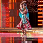 Nina Davuluri performing at Miss America contest