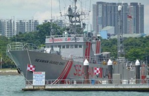US Ship Seaman Guard Ohio