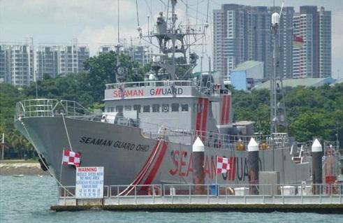 US Ship Seaman Guard Ohio