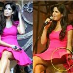 Katrina Kaif suffers Wardrobe Malfunction at Dhoom 3 Music Launch