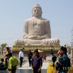 80ft long Lord Buddha Statue in Bodhgaya Bihar