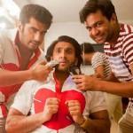 Arjun Kapoor shaves off Ranveer Singh's Beard for Gunday