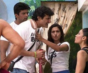 Armaan Kohli and Sofia Hayat Fight Scene, Photos