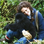 Google Doodle wishes Gorilla Expert Dian Fossey a Happy Birthday