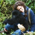 Google Doodle wishes Gorilla Expert Dian Fossey a Happy Birthday