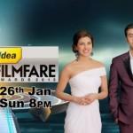 Filmfare Awards Anchor Ranbir Kapoor and Priyanka Chopra