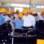 Karl Slym with Engineering Team of Tata Motors at Jamshedpur