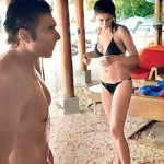 Bikini Clad Nargis Fakhri spotted with Uday Chopra in Maldives
