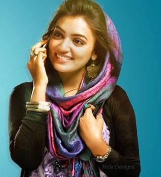 Nazriya Nazim Hot in Traditional Dress