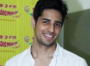 Siddharth Malhotra at a Radio Mirchi Event