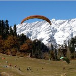 Paragliding is one major Adventure Sport in Sikkim India