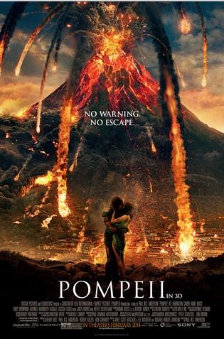 Pompeii 2014 Movie Poster