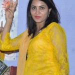 Actress Arshi Khan Hot in Yellow Salwar Suit