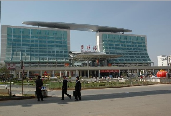 Kunming Railway Station where March 2014 Massacre took place