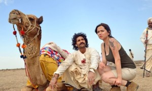 Purab Kohli and Saidah Jules in Movie Jal