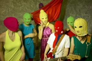 Seven Members of Pussy Riot Band Members