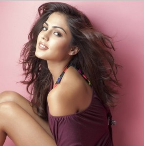 Actress Rhea Chakraborty in a Hot Photoshoot