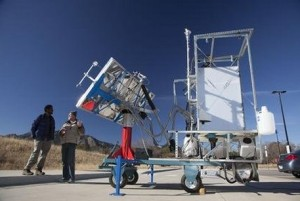 Solar Thermal toilet developed at Colorado University