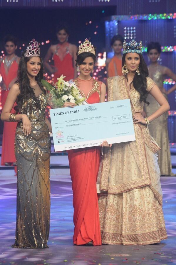 Koyal Rana crowned as ...
