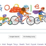 Google gifts Mother's Day with a Bicycle Doodle