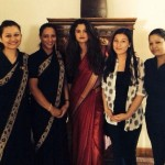Selena Gomez mesmerizes in her Indian Avatar with Saree and Bindi