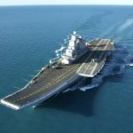 1 Lakh eggs, 10000 Litres Milk consumed on INS Vikramaditya per month