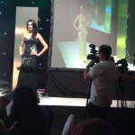 Monica Gill during Evening Gown round of Miss India Worldwide
