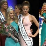 Olivia Aspland Miss Sweden crowning Moments