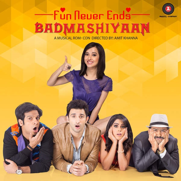 Badmashiyaan Movie Release Poster