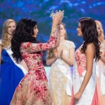 Crowning moment of Miss Russia Sofia Nikitchuk