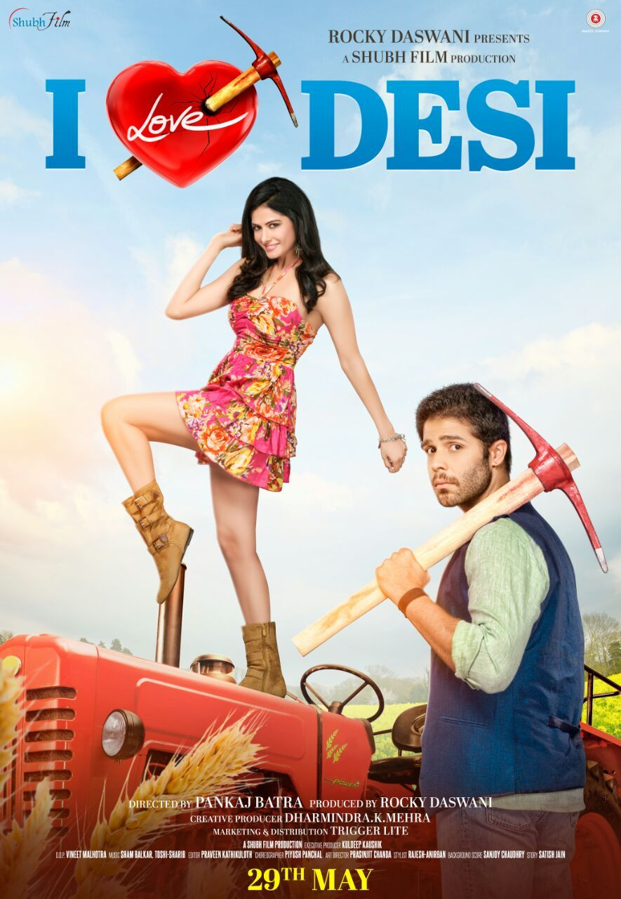 I Love Desi film Poster