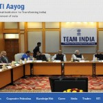 Website of NITI Aayog Launched by Vice Chairman Arvind Panagariya