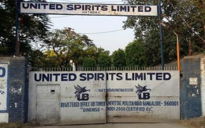 United spirits bottling plant at Hatidah, Mokamah Bihar