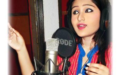 Soumita Saha voicing Nisarga Madhuri
