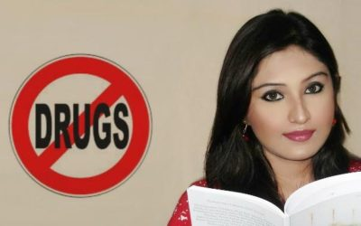 Soumita Saha campaigns against Drug Abuse