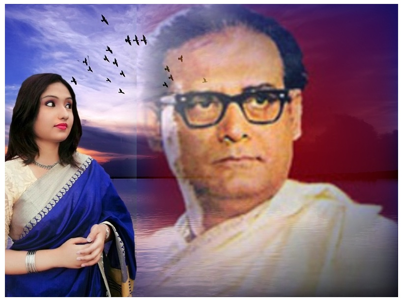 Soumita Saha paying tribute To Hemanta Mukherjee
