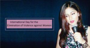 Soumita Saha campaign against Gender Violence