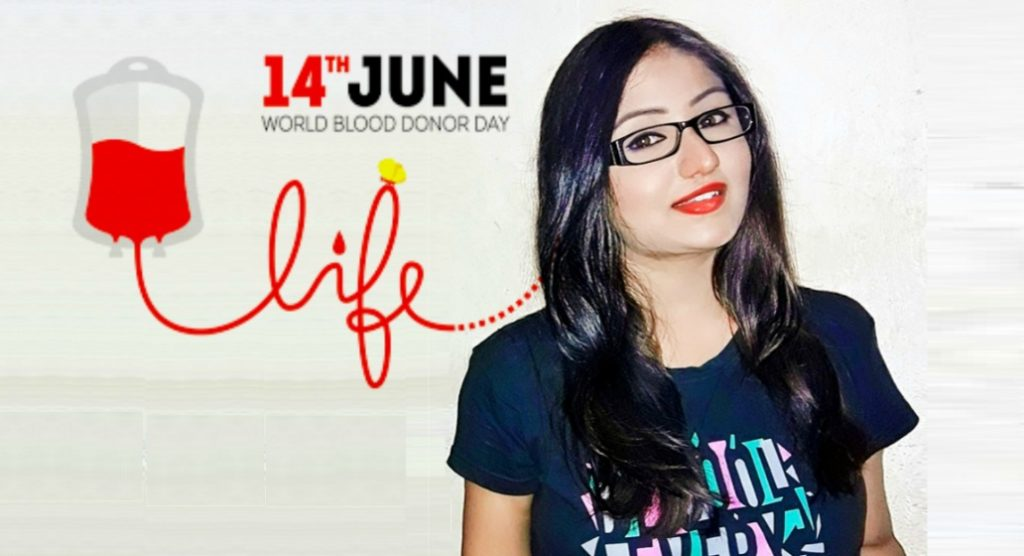 Soumita Saha World Blood Donor Day